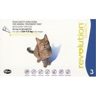 Revolution Blue Cats 5.7-15.5lbs (2.6-7.5kg) - 1 Pack
