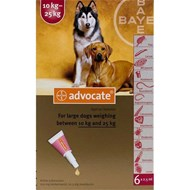 Advantage Multi (Advocate) Dogs 22-55lbs (10-24kg) - 1 Pack