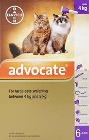 Advocate Cats Over 8.8lbs (4kg) - 6 Pack