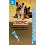Advantage Multi (Advocate) Dogs 8.8-22lbs (4-10kg) - 1 Pack