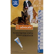 Advantage Multi (Advocate) Dogs Over 55lbs (25kg) - 1 Pack