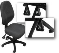 High Back, Full Ergonomic Gas Lift & Back Tilt Office Chair