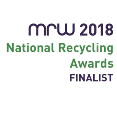 We've been shortlisted for the National Recycling Awards!