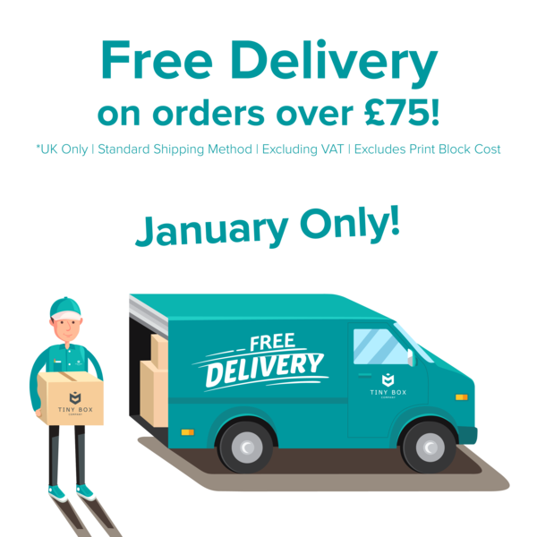 Free Delivery on Gift Packaging