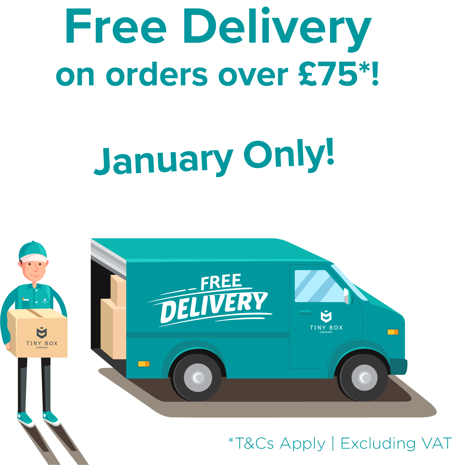 Free Delivery* until 31st January 2018
