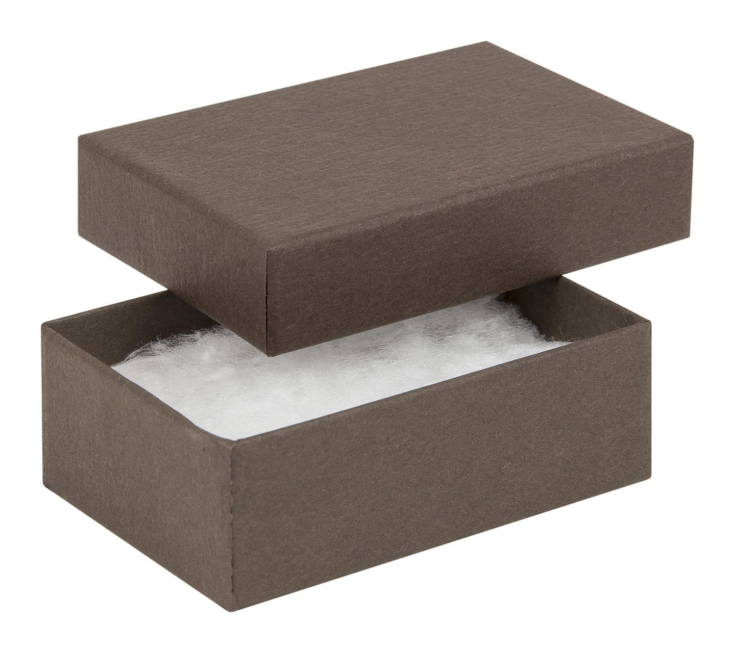 Kraft chocolate small earring box chocolate recycled for Eco boxes