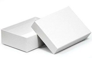 Luxury White A6 Box 165 x 116 x 50mm (WPA61WH)