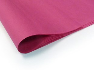 Recycled Cerise Pink Tissue Paper - 240 sheets (L)