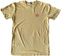VS Bodyboards Faded Logo T Shirt - Mustard