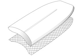 PE Mesh (Polyethylene with Mesh Inlays)