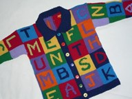 Monogramed Alphabet Jacket