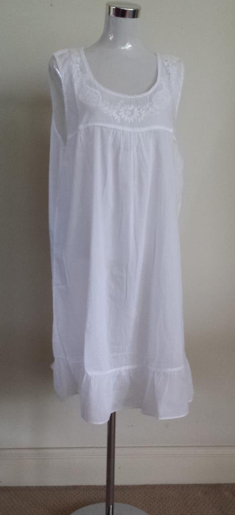 46e3c050362 French Country Cotton Voile Nightie FCH180V