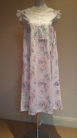 French Country Printed Cotton Voile Nightie FCF131-V