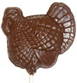 Chocolate Turkey Sucker