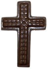 Chocolate Patterned Cross