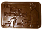 Happy Father's Day Chocolate Bar