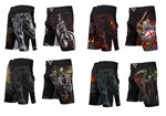 Four Horseman Fight Shorts - Complete Set