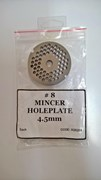 #8 Mincer Holeplate 4.5mm