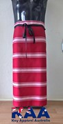 Red White Waist Apron