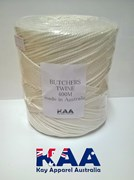 Polyester Butchers Twine 400M roll White