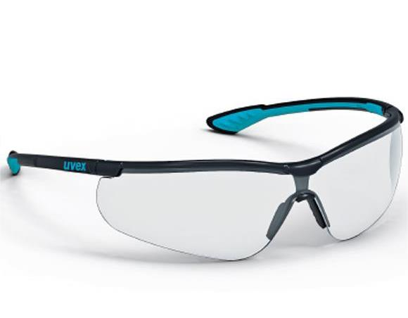 UVEX - Sportstyle Anti-Fog Anti-Scratch Safety Spectacles - Clear Lens 368e51c9cc16