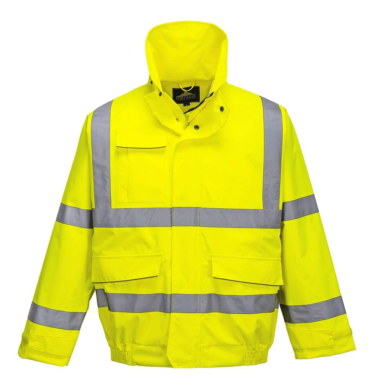 26b4882ef Portwest - Extreme Bomber Jacket - Yellow - Conforms to EN ISO 20471 Class  3 & EN 343 Class 3:3 - PW-S591YER