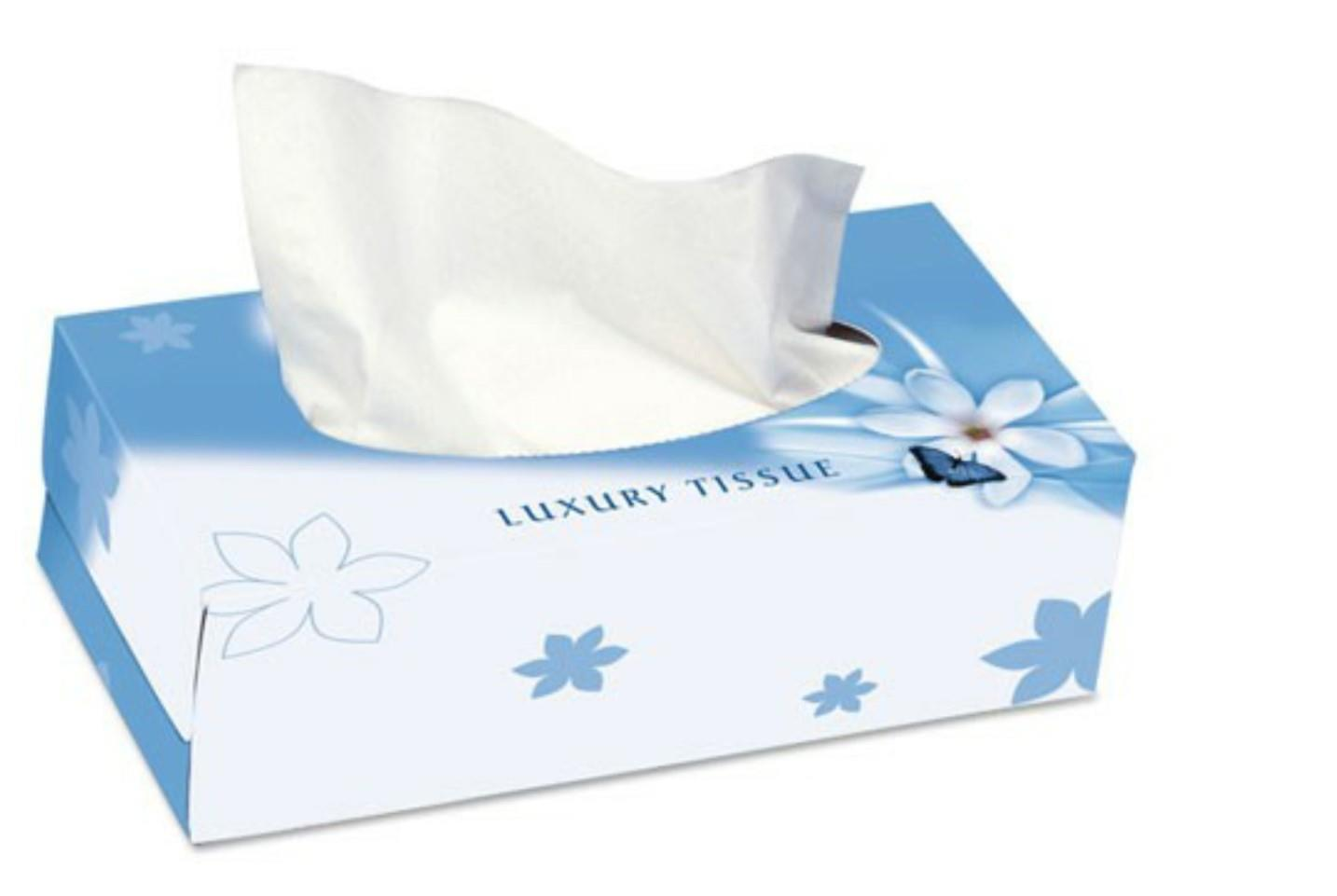 Nicky 2 Ply Man Size Soft Touch Facial Tissues
