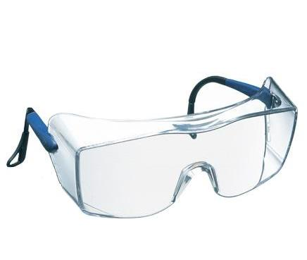 f765b58372e 3M - OX2000 Overspecs - Safety Spectacles with Rotating Tips - Clear  Anit-Mist Lens - EN166.1.
