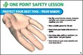 One Point Safety Lesson Poster - [AS-OPS5]