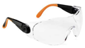 "529 UNIVET Wraparound Safety Spectacles with Clear Lens with a ""K"" Rated Anti-Scratch Coating - [UV-529.00.05.00]"