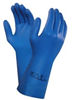 All Blue Gloves