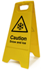 Winter Safety Signs