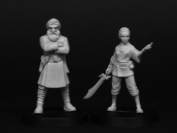 New Pulp Alley Miniatures and Cards on Pre-Order Now!