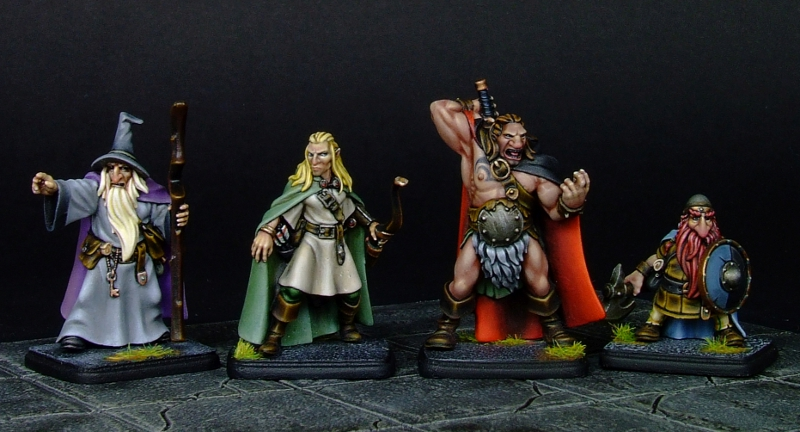 Fantasy Adventurers released and a Pulp Alley Pre-Order!