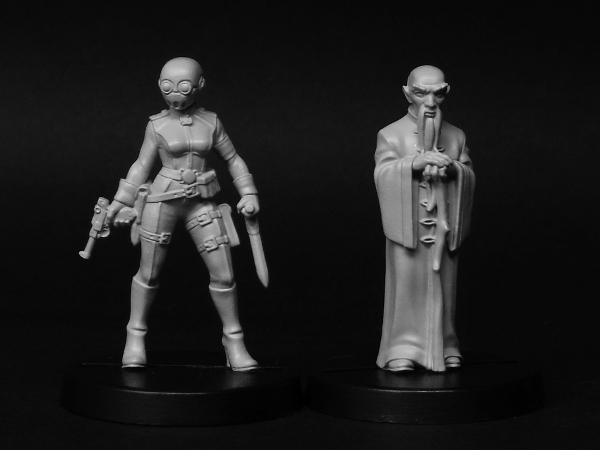 New Pulp Alley figures and guns on sale NOW!