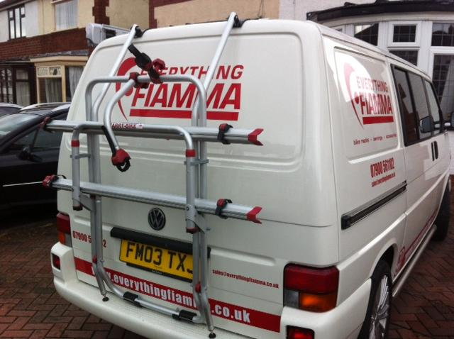 Fiamma Carry Bike Rack For Vw T4 Everything Fiamma