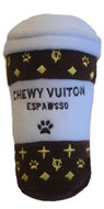 Chewy Vuiton Expawsso Dog Toy