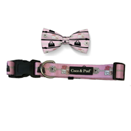 Coco Chic Chewnel Dog Collar & Bow Tie