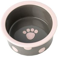 Bella's Dots Handpainted Pet Bowls