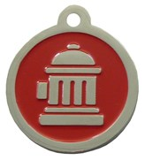 Fire Hydrant ID Tags (Red)
