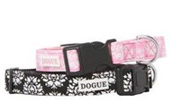 Dogue Fifi Fleur Canvas Collar