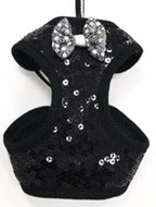 Dogo NY Black Sequin Harness