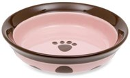 Sassy Girl (Shallow) Ceramic Pet Bowl