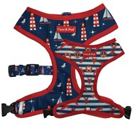 Hamptons Reversible Dog Harness