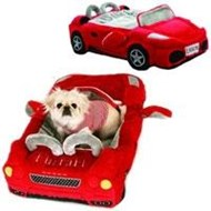 Furrari Car Luxury Designer Pet Bed