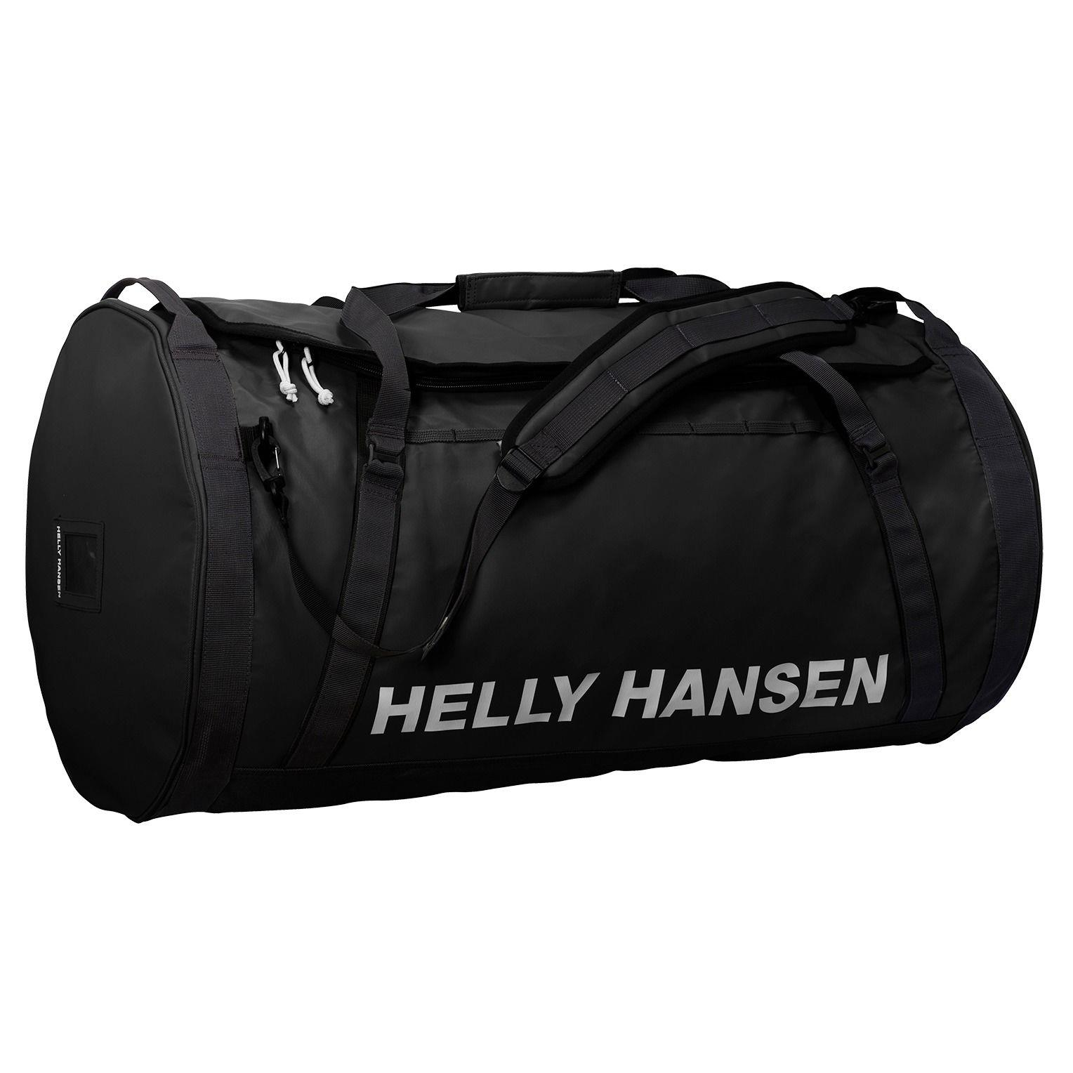 8333418c152 Helly Hansen HH Duffel Bag 70L Black BFS MonkeyFist Marine
