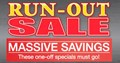RUN OUT SALE
