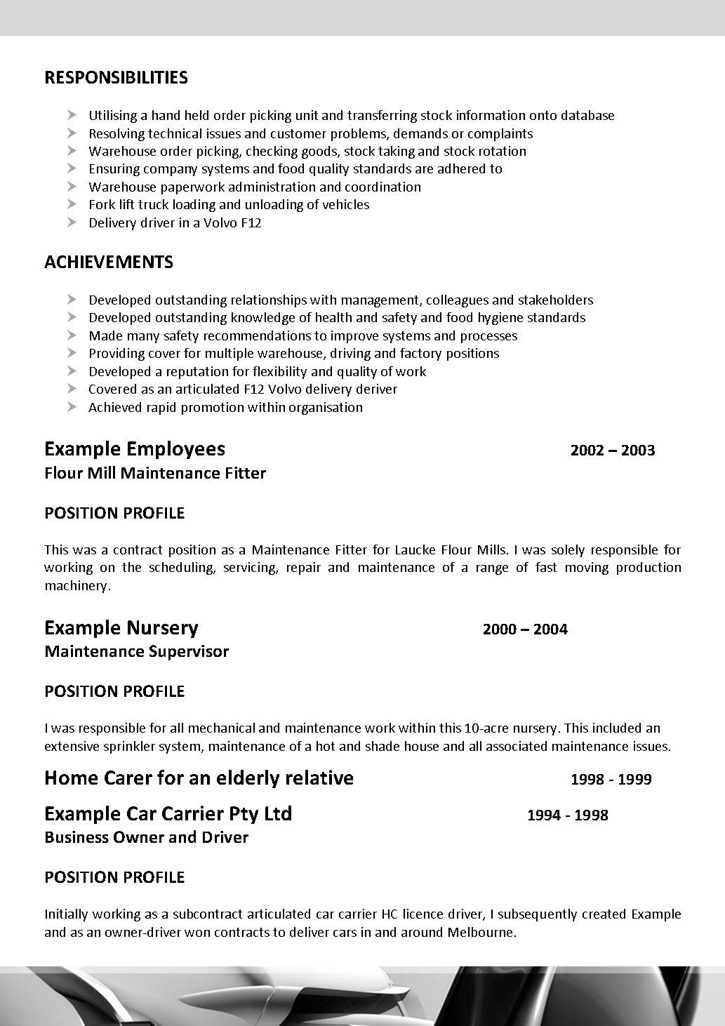 trade resume examples cipanewsletter resume templates for tradesmen resume expert resume industry