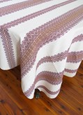 Classic Woven Tablecloth Large Style 1