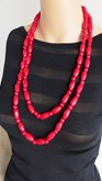 Long Pinewood Necklace Dorine